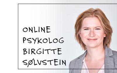 Online psykolog Birgitte Sølvstein