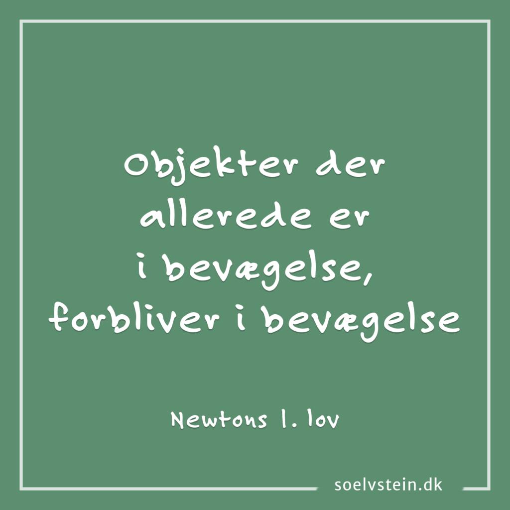 newtons 1. lov