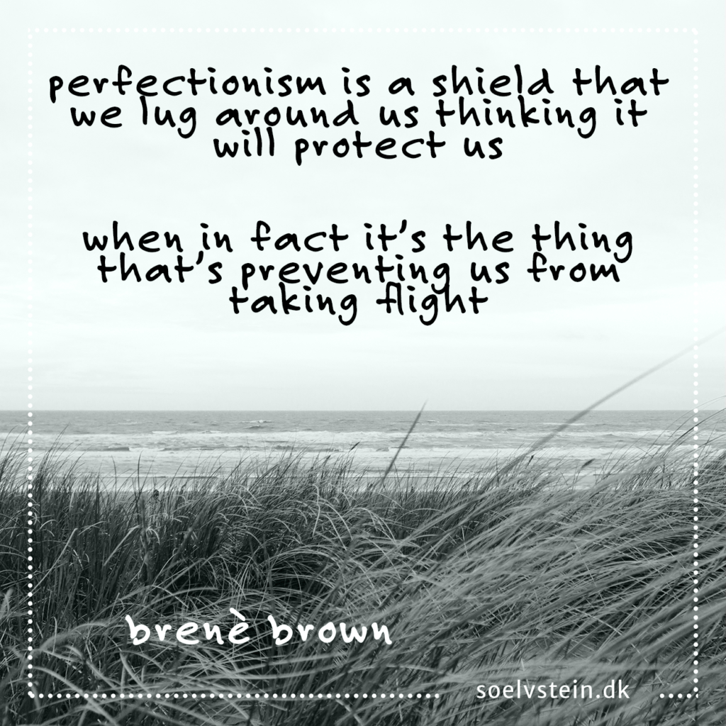 perfectionism brene