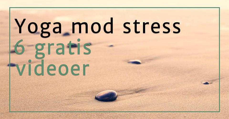 Yoga mod stress – 6 gratis videoer