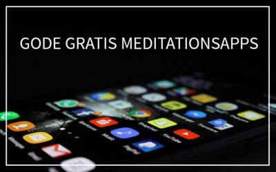 #10 Gode gratis meditationsapps
