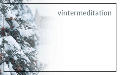 Vintermeditation