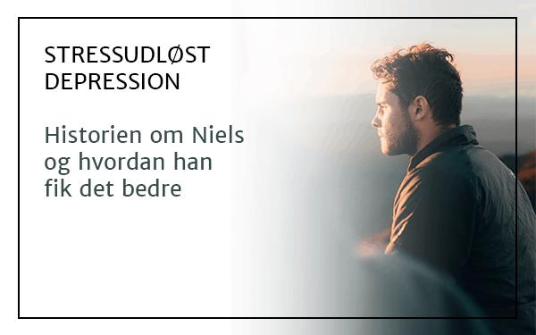 Stressudløst depression. Historien om Niels og hvordan han fik det bedre